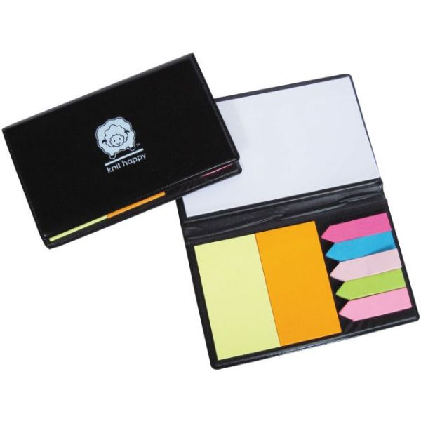 Knit Happy Sticky Note Organizer