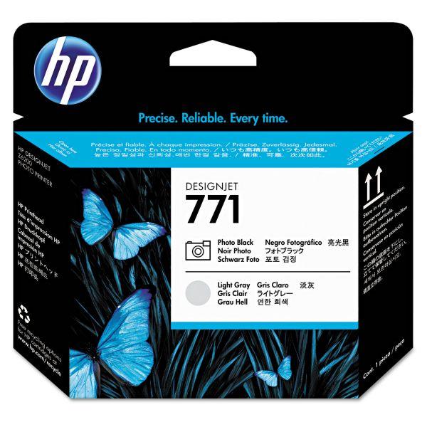 HP 771 Photo Black/Light Gray Printhead (CE020A)