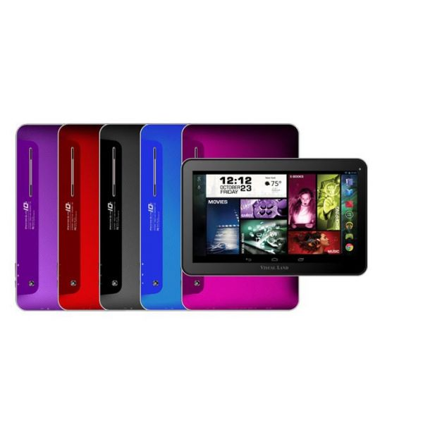 """Visual Land 16 GB Tablet - 10"""" - Quad-core (4 Core) - Pink"""