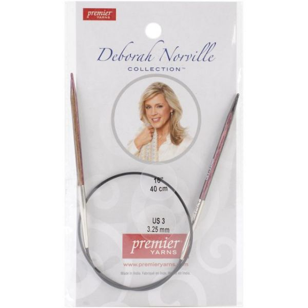 Deborah Norville Fixed Circular Knitting Needles 16""