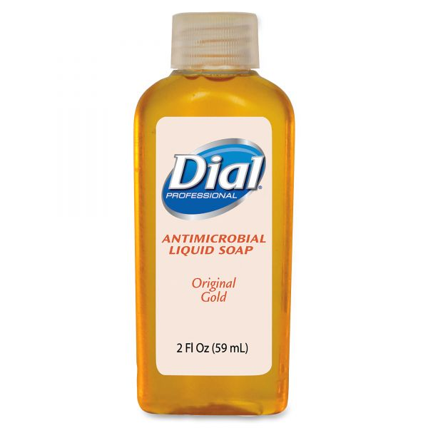 Dial Gold Travel Size Antimicrobial Liquid Hand Soap
