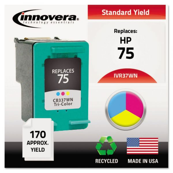 Innovera Remanufactured HP 75 Ink Cartridge