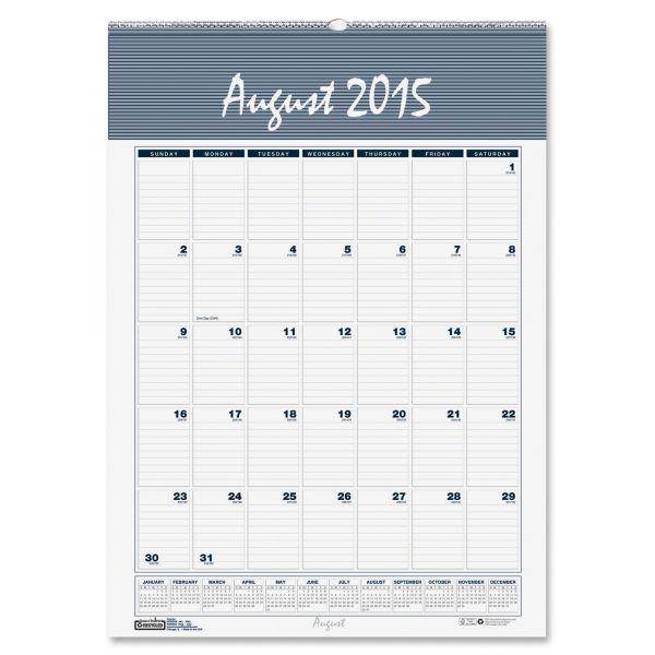 House of Doolittle Bar Harbor Academic Monthly Wall Calendar
