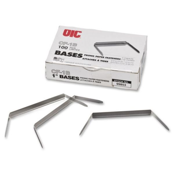 OIC Standard Steel Prong Paper Fasteners