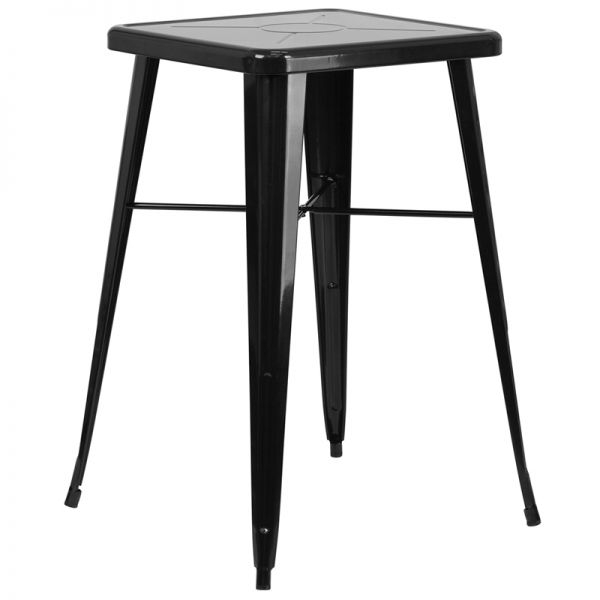 Flash Furniture Square Metal Bar Height Table