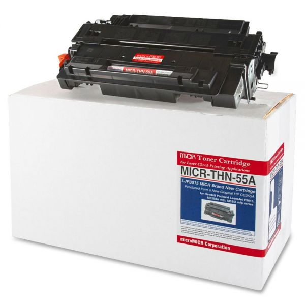 Micromicr Corporation Remanufactured HP CE255A Black Toner Cartridge