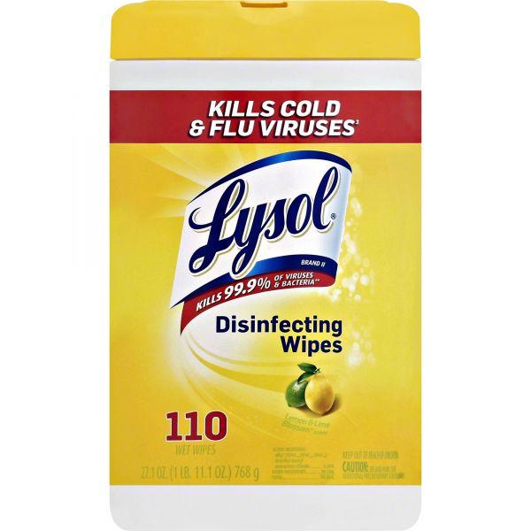 Lysol Lemon/Lime Blossom Wipes