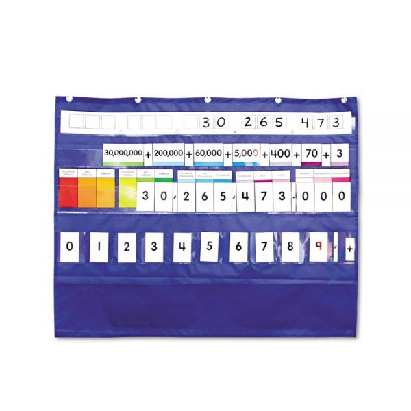 Carson-Dellosa Publishing Place Value Pocket Chart