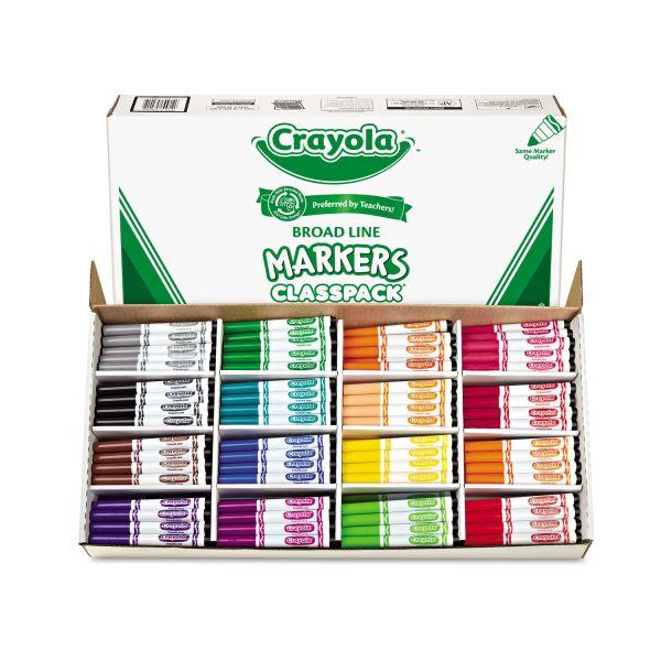 Crayola Broad Line Markers Classpack