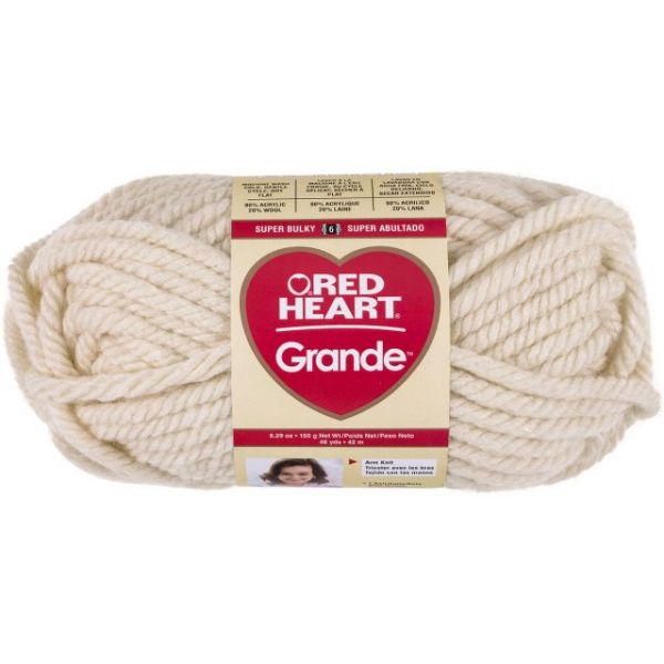 Red Heart Grande Yarn - Aran