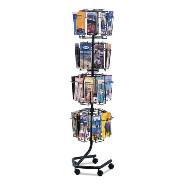 Safco Wire Rotary Brochure Rack