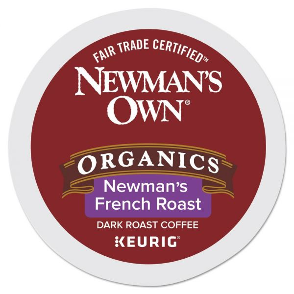 Newman's Own Organics French Roast Coffee K-Cups