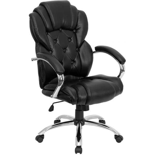 Flash Furniture High Back Executive Swivel Office Chair [GO-908A-BK-GG]