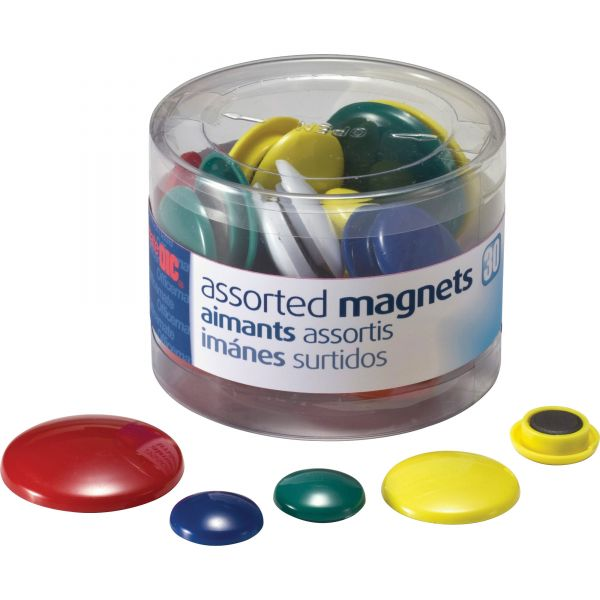 OIC Round Handy Magnets