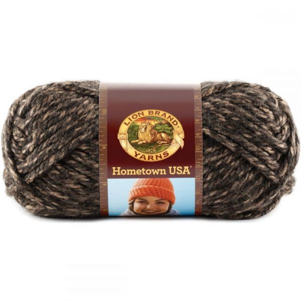 Lion Brand Hometown USA Yarn - Little Rock Granite