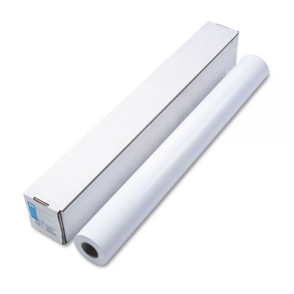 """HP Designjet Large Format Instant Dry Semi-Gloss Photo Paper, 36"""" x 100 ft., White"""