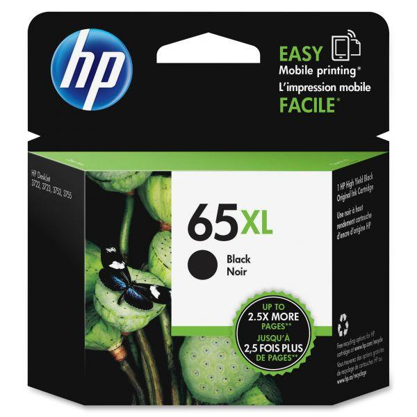 HP 65XL Black High Yield Ink Cartridge (N9K04AN)