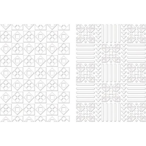 Spellbinders M-Bossabilities A4 Card Embossing Folder