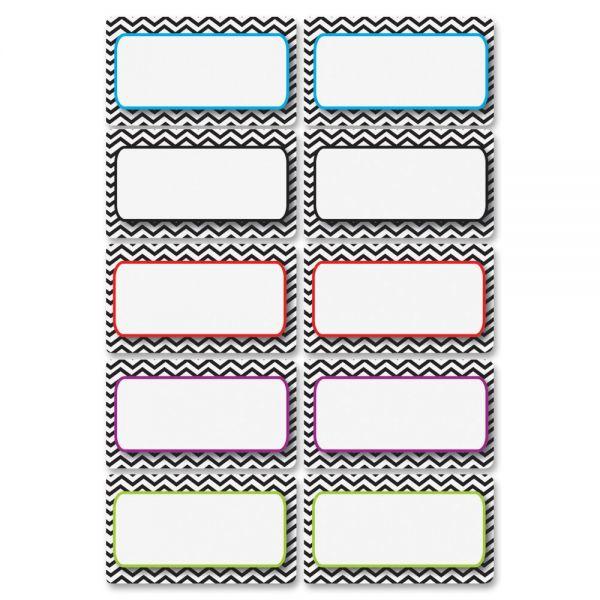 Ashley Chevron Magnetic Die-cut Nameplates
