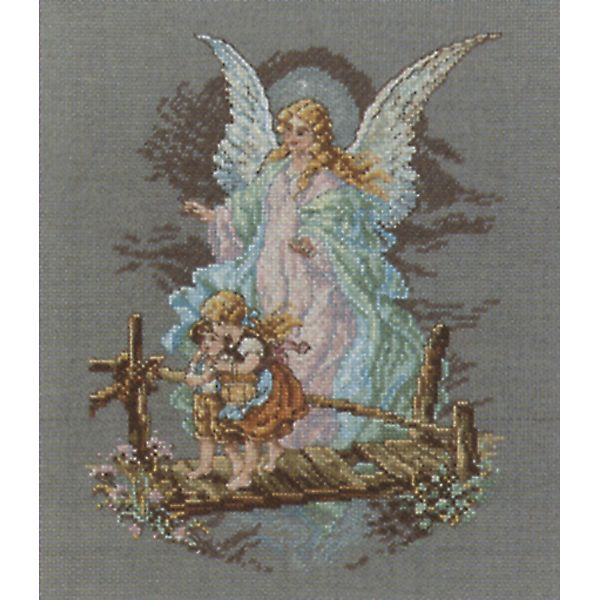 Janlynn Guardian Angel Counted Cross Stitch Kit