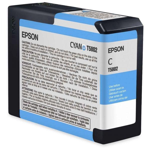 Epson T5802 Cyan Ink Cartridge