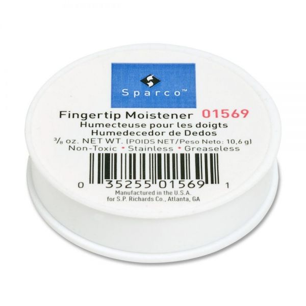 Sparco 3/8 Oz. Greaseless Fingertip Moistener