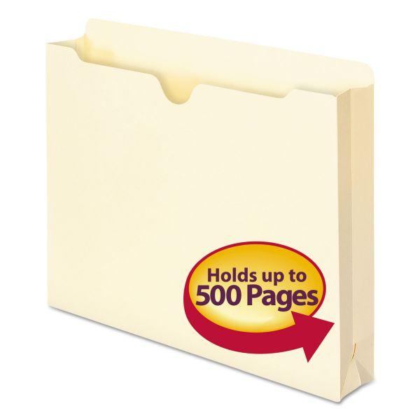 Smead Manila File Jackets, Letter, 11 Point, Manila, 50/Box