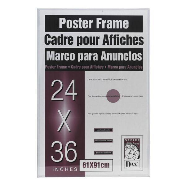 "Dax U-Channel 24"" x 36"" Poster Frame"