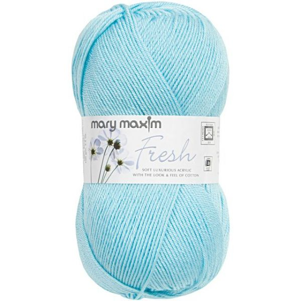 Mary Maxim Fresh Yarn - Cool Blue