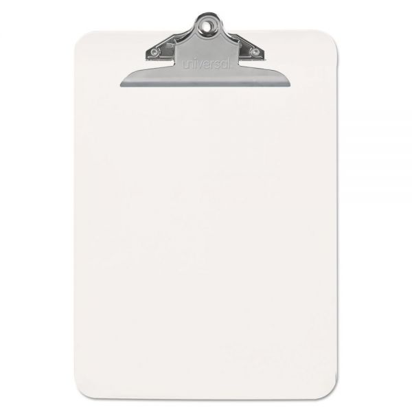 Universal Clear Plastic Clipboard with High Capacity Clip