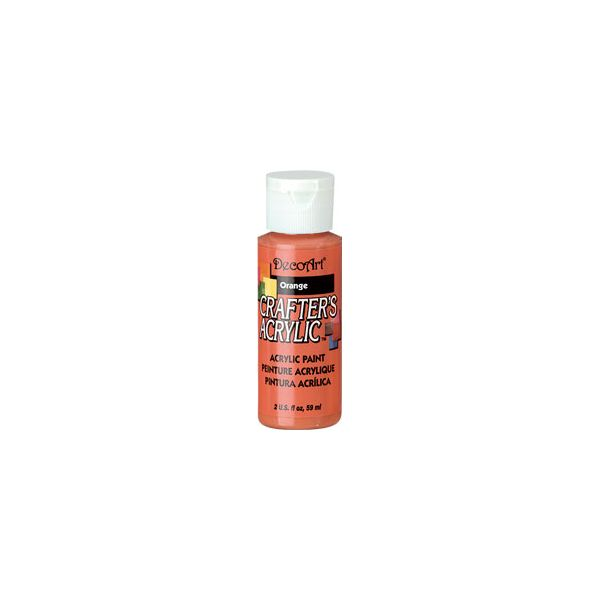 Deco Art Crafter's Acrylic Orange Acrylic Paint