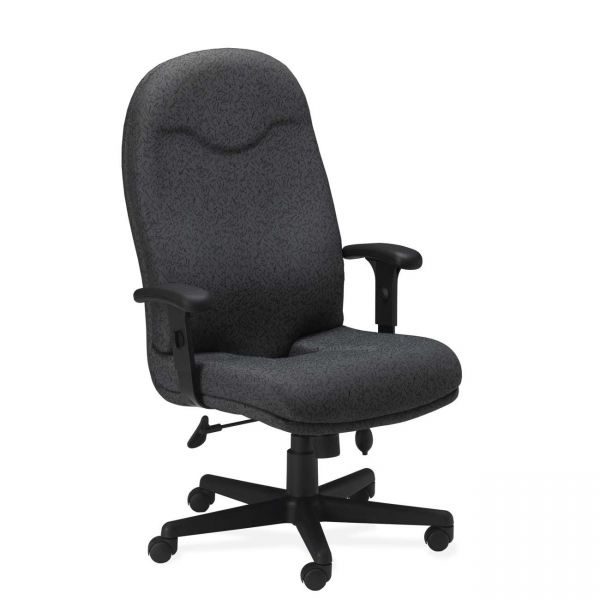 Tiffany Industries Comfort Series Executive High-Back Swivel/Tilt Office Chair
