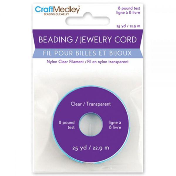 Craft Medley Nylon Filament Beading & Jewelry Cord
