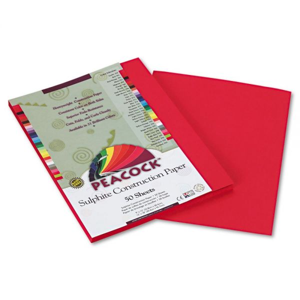 Peacock Sulphite Construction Paper