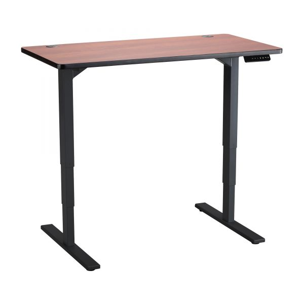 Safco Electric Ht-adj. Table Cherry Lam. Tabletop
