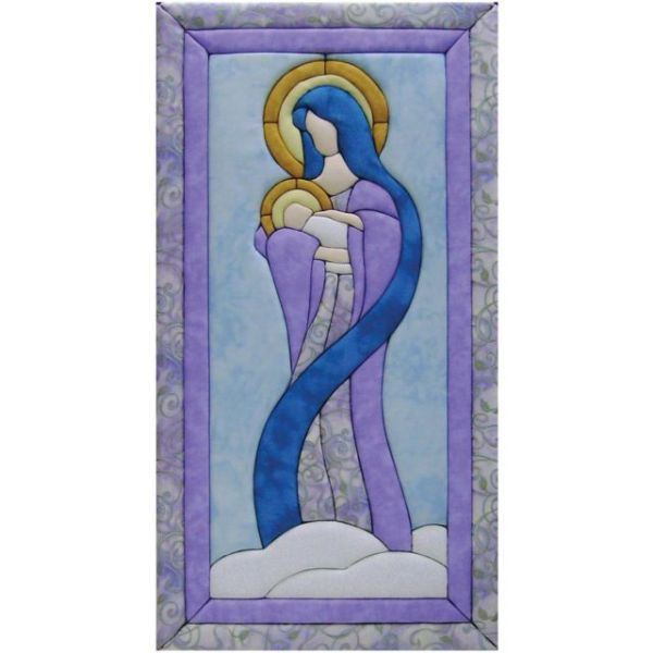 Mary & Baby Jesus Quilt Magic Kit