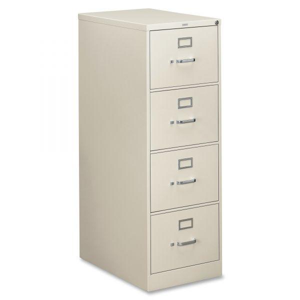 HON 310 Series 4 Drawer Locking Vertical File Cabinet