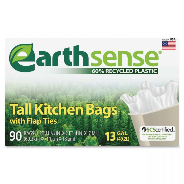 EarthSense 13 Gallon Trash Bags