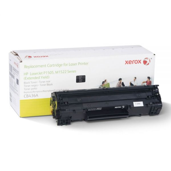 Xerox Remanufactured HP CB436A (6R3197) Extended Yield Toner Cartridge