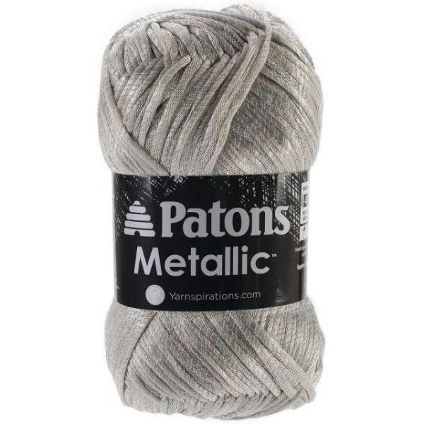 Patons Metallic Yarn - Platinum
