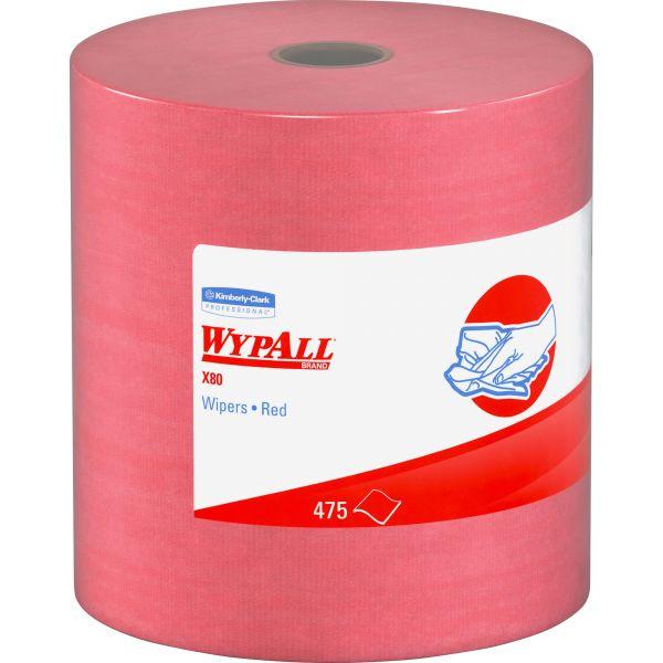WYPALL X80 Hydroknit Towel Rolls