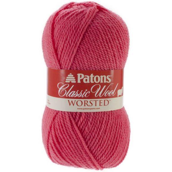 Patons Classic Wool Yarn - Coral