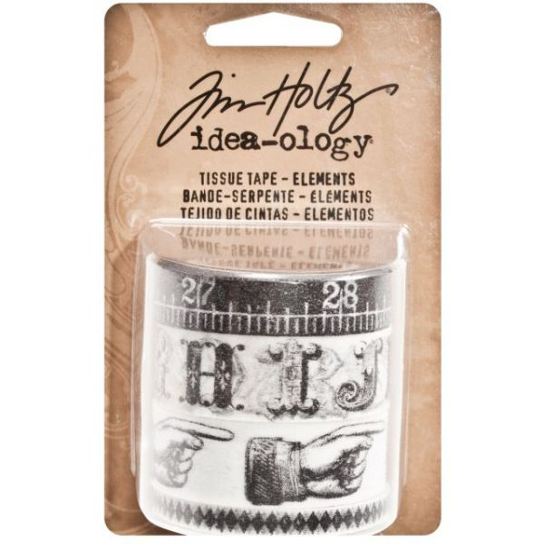 Idea-Ology Tissue Tape 10yd 4/Pkg