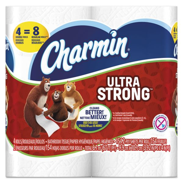 Charmin Ultra Strong 2 Ply Toilet Paper