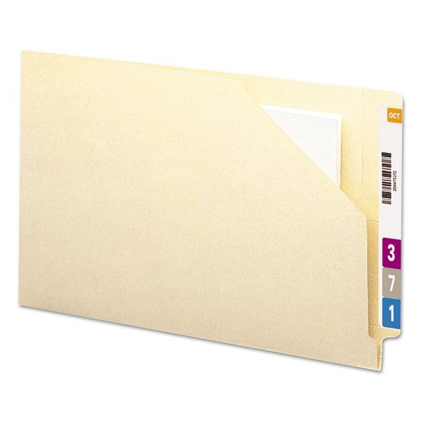 Smead End Tab File Pockets w/Cut-Away Front Corner