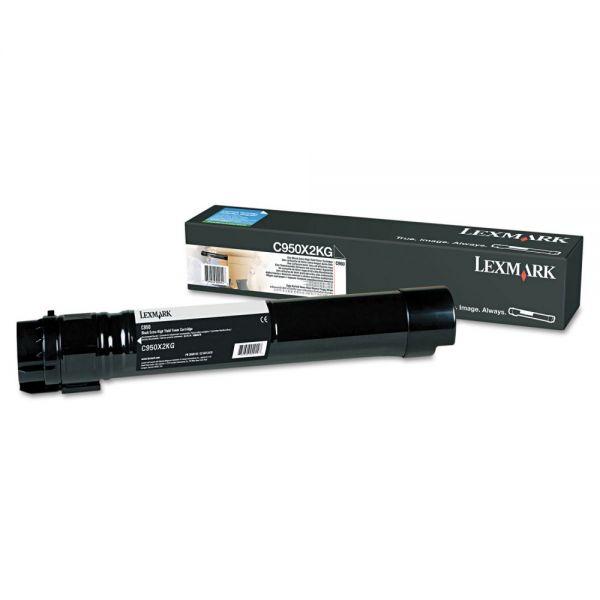 Lexmark C950X2KG Black High Yield Toner Cartridge