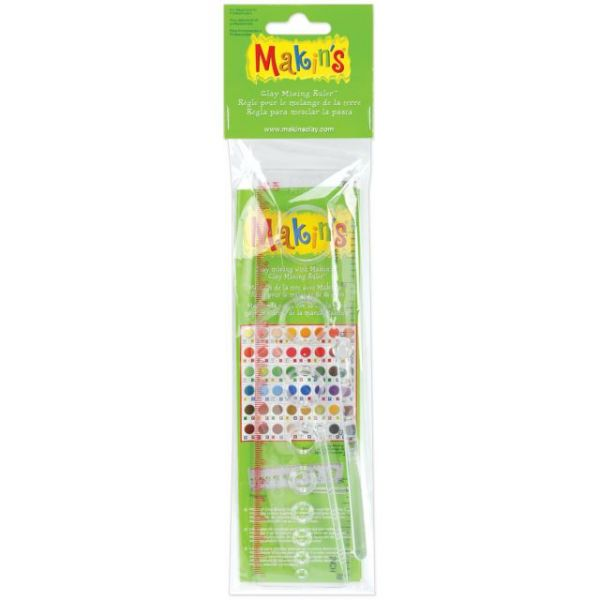 Makin's Clay Mixing Ruler 8""