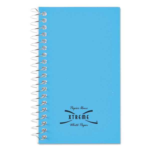 National Wirebound Memo Book, Narrow Rule, 5 x 3, White, 60 Sheets