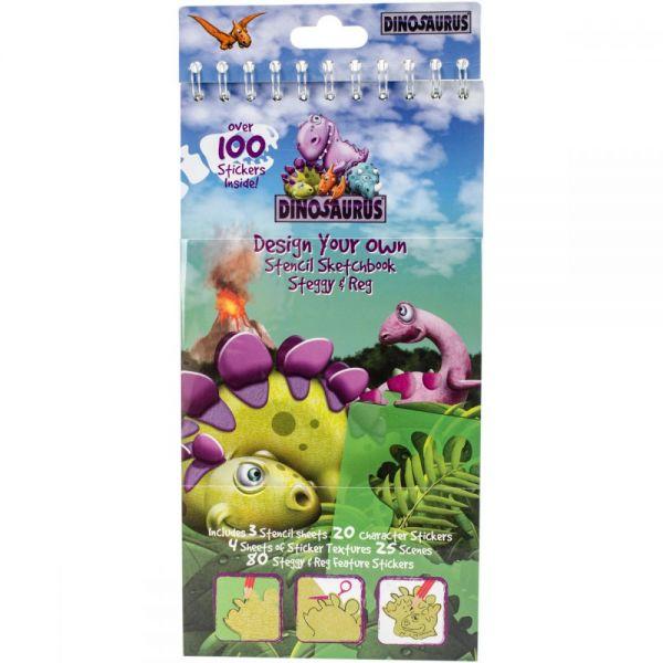 Dinosaurus Stencil Kit
