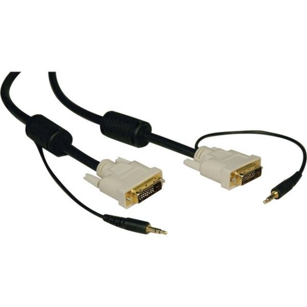 Tripp Lite DVI Dual Link Cable with Audio, Digital TMDS Monitor Cable